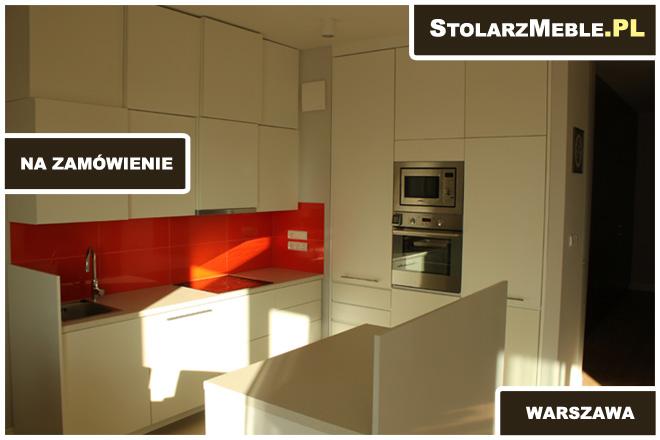 kuchnia bialy mat 04 ) meble na zamówienie  Warszawa -> Castorama Kuchnia Piano Bialy